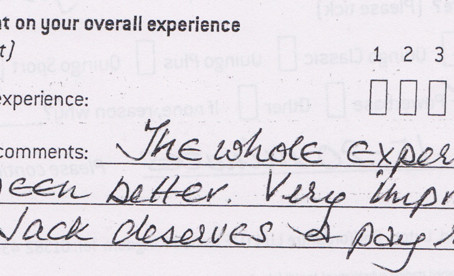 Thank you for your wonderful feedback Mrs Stephens