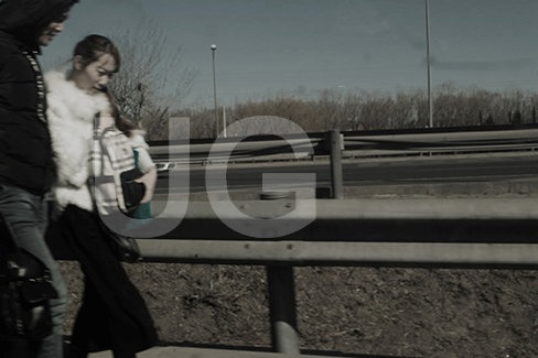 Walking on the Highway