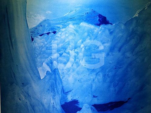 Blaue Gletscher IV