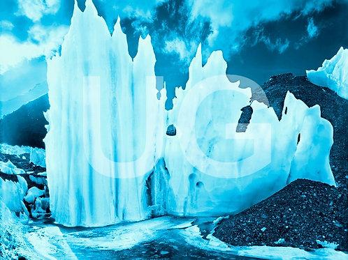 Blaue Gletscher I