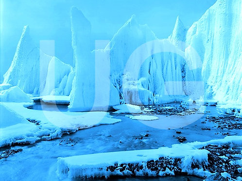 Blaue Gletscher III