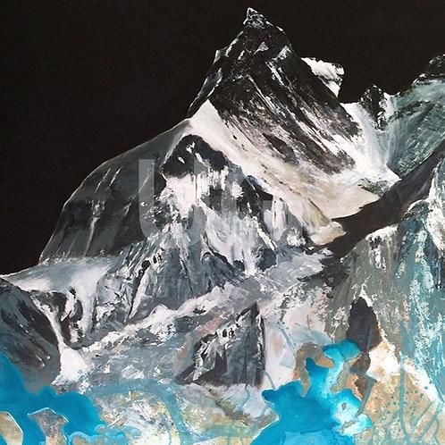Kumbu Gletscher