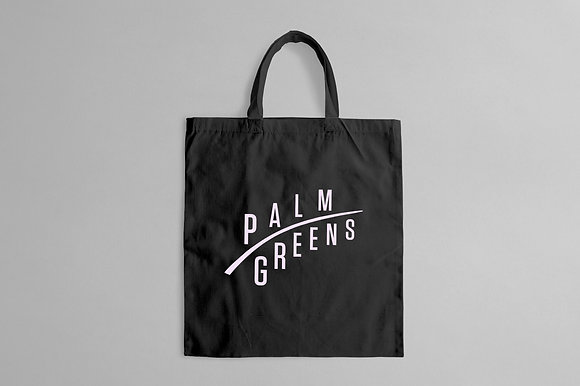 Palm Greens Tote