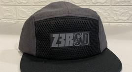 Z3R0D 5-Panel Cap 9Gray)