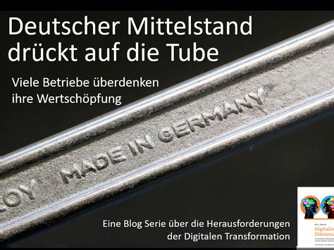 Deutscher Mittelstand drückt bei Digitalisierung gehörig auf die Tube