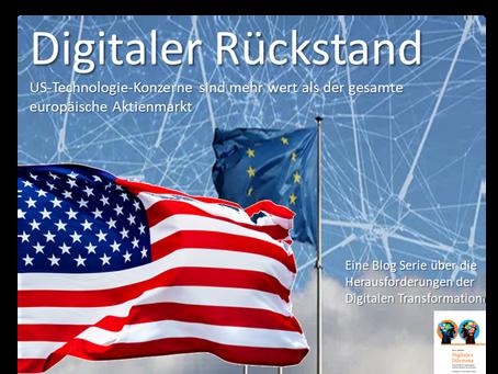 US-Technologie-Konzerne sind mehr wert als der gesamte europäische Aktienmarkt!