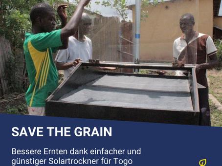 Save the Grain - Ernteverlust in Afrika minimieren und Bauern einen Weg aus der Armut bieten