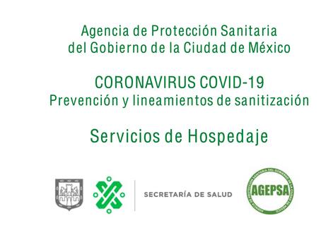 Prevención y lineamientos de sanitización para servicios de hospedaje