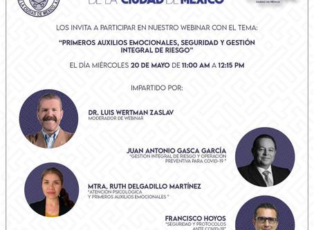 PRIMEROS AUXILIOS EMOCIONALES, SEGURIDAD Y GESTIÓN INTEGRAL DE RIESGO