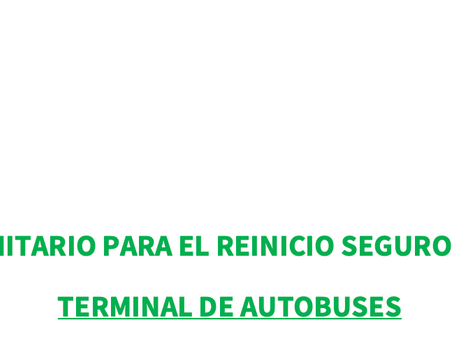 PROTOCOLO SANITARIO TERMINAL DE AUTOBUSES