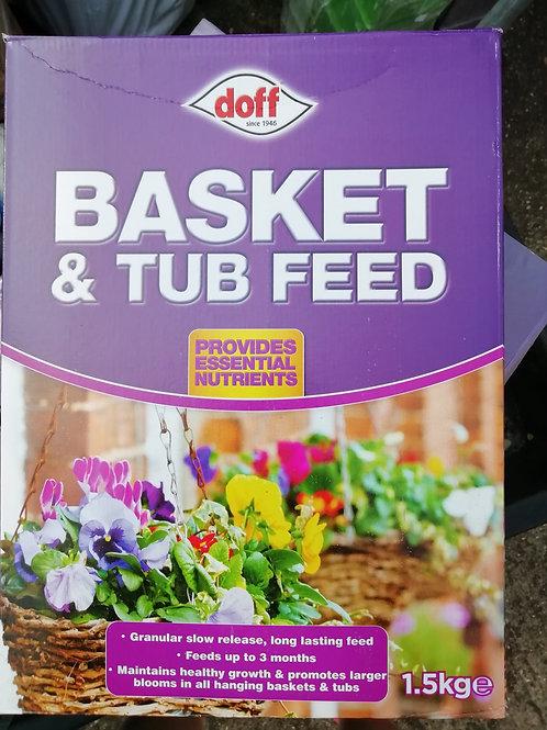 Basket& tub feed 1.5kg