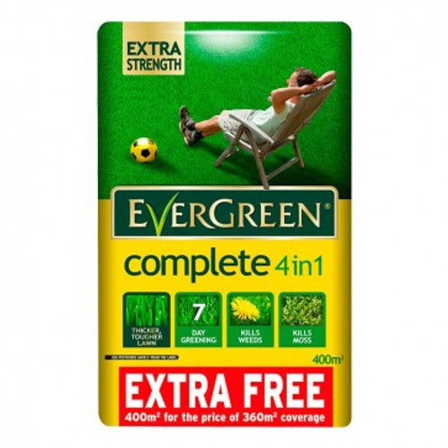 Evergreen lawn feed