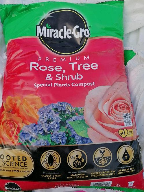 Rose tree & shrub compost 40 litres