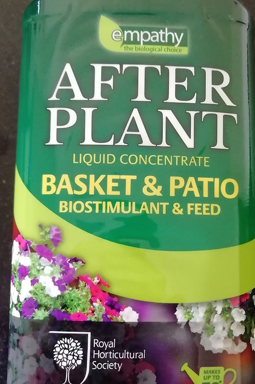 Basket and patio feed