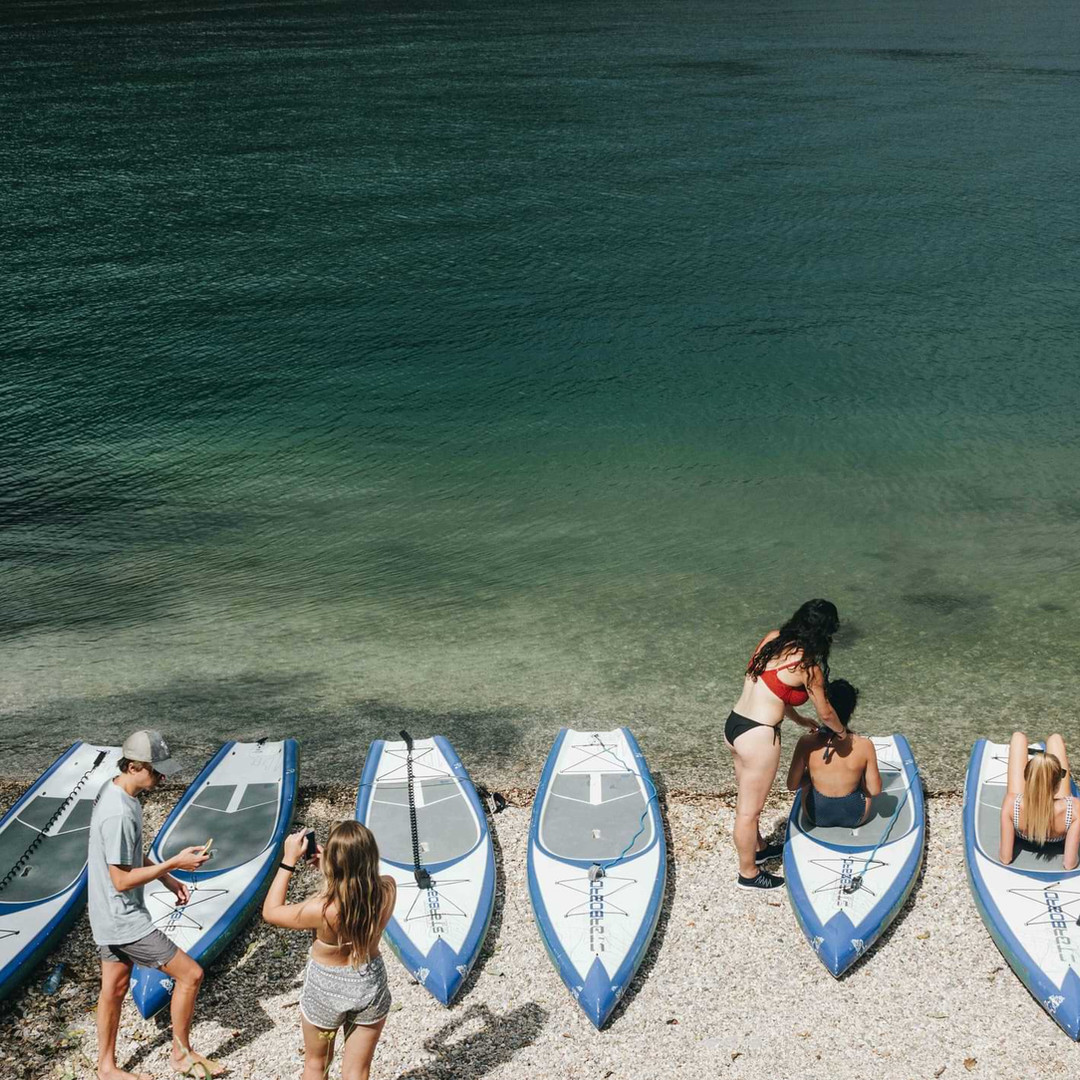 SUP & Adriatic beach