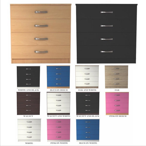 Classic 4 Drawer Chest