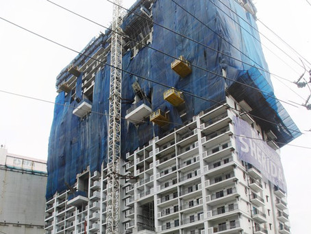 Sheridan Towers Construction Update as of December 2015