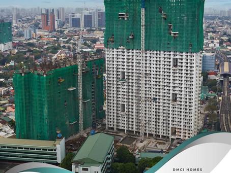 Infina Towers Site Progress - January 2021