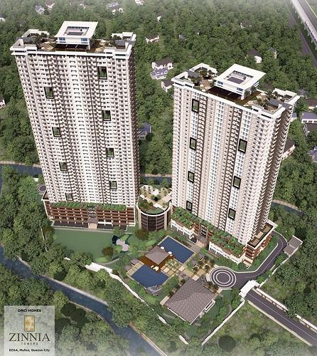 zinnia towers dmci quezon city