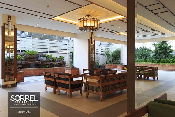 sorrel residences lobby