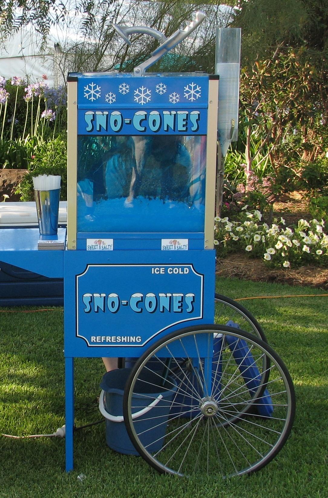 Old Fashioned Sno Cone Cart