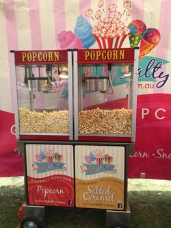 Modern Double Popcorn Cart