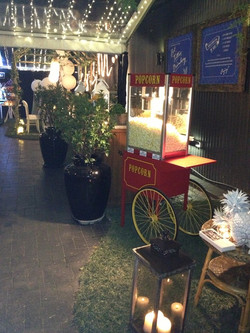 Traditional Popcorn Cart Hire