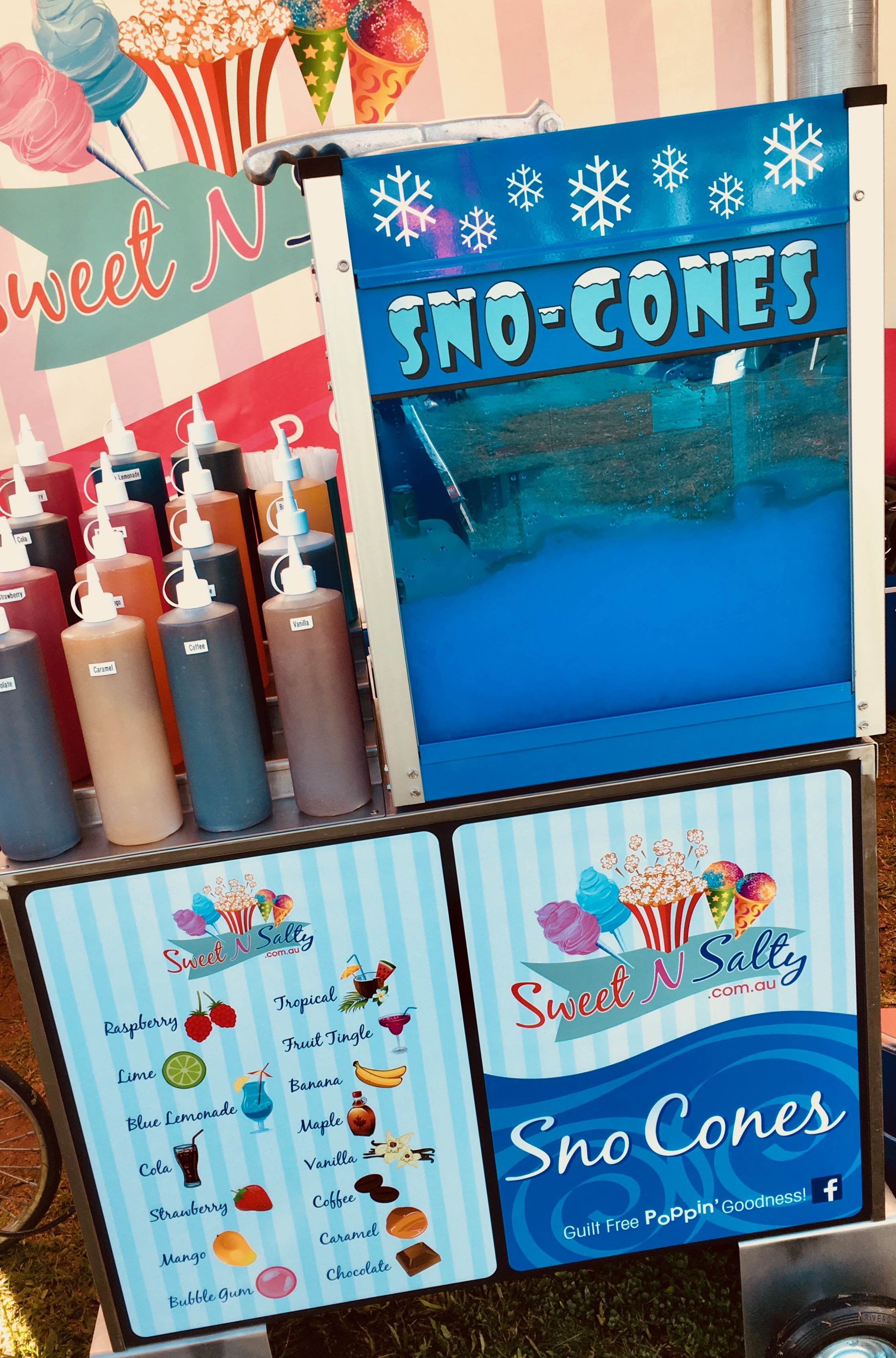 Modern Sno Cone Cart Hire