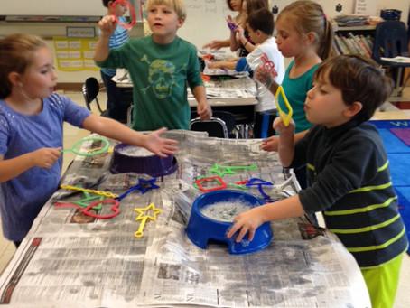 2015-2016: Grade 1 Discovery Museum Bubbles Program