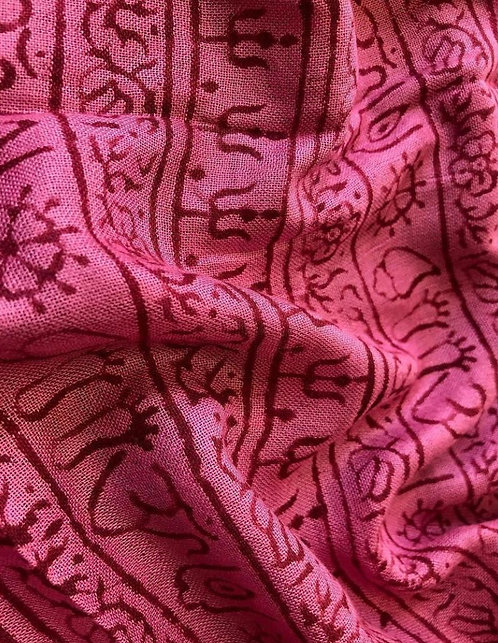 Vintage pink kurta