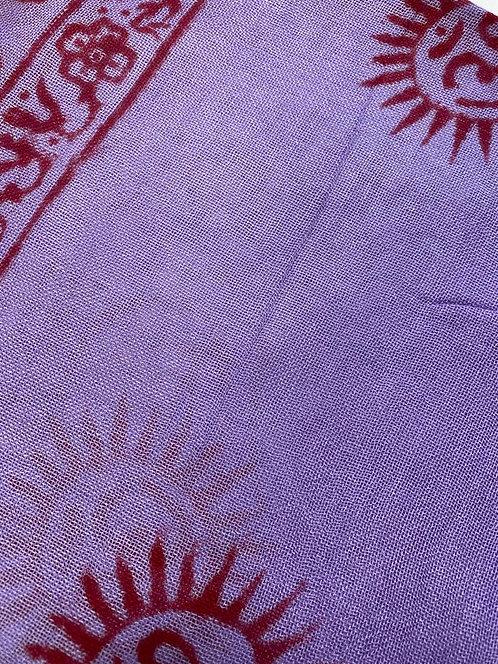 Lavender pareo skirt
