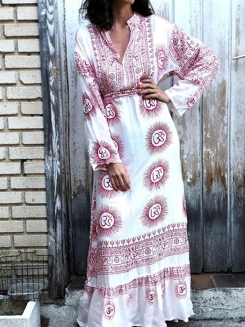 White Ibiza long dress