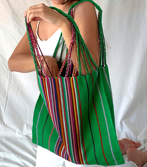 Green market bag