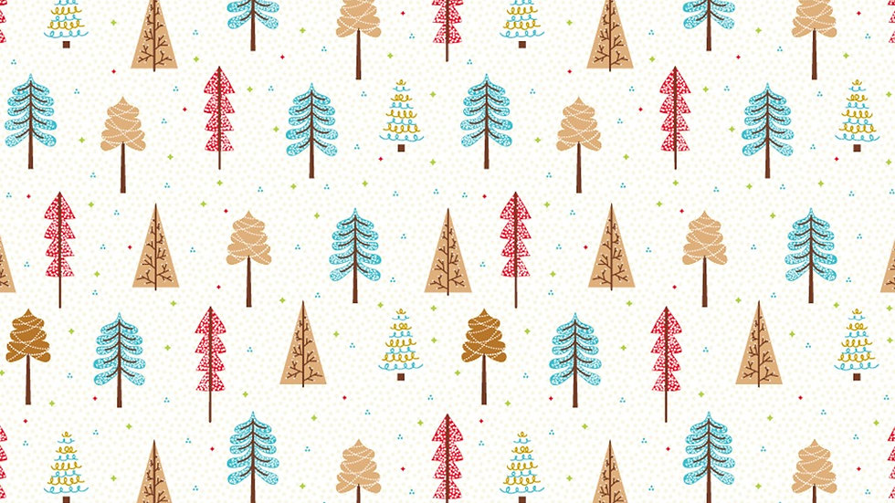 Feltro Estampado Compose Natal- Little Tree