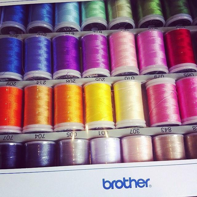 Minha coleção da Brother !