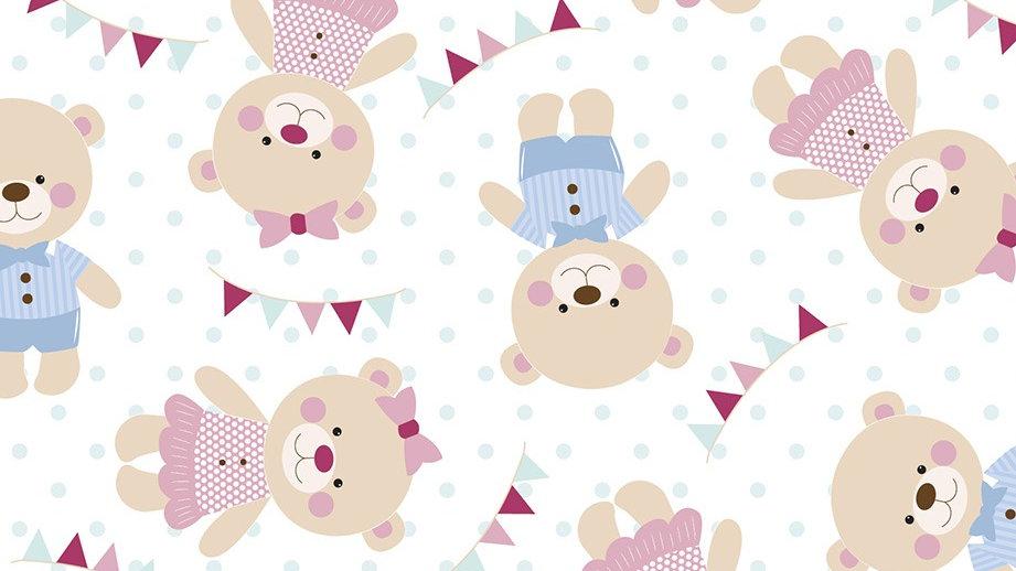 Feltro Estampado - Petit Ursinho Baby