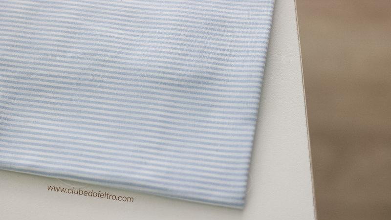 Tecido Fio Tinto Listrado D.Juan cor - 1024 (Azul) - Tecidos Caldeira