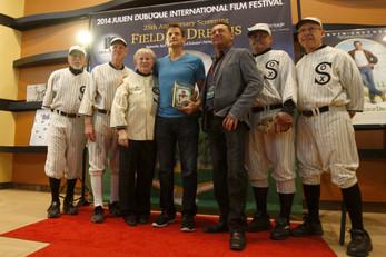 The Julien Dubuque International Film Festival footage...