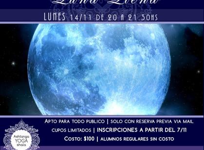 Práctica especial de Luna Llena