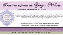 Clase especial - Yoga Nidra