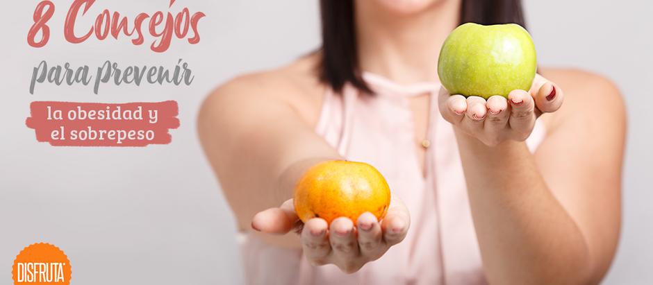 8 consejos para prevenir la obesidad y el sobrepeso