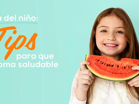 Como enseñar a tu niño a comer sano