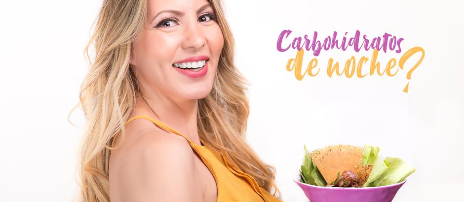 ¿Se puede comer carbohidratos de noche?