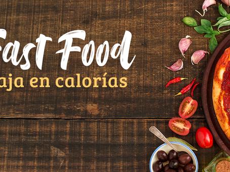 fast food bajo en calorías