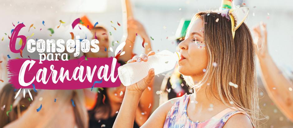 Consejos para mantener el equilibrio este carnaval