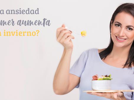 ¿La ansiedad por comer aumenta en invierno?