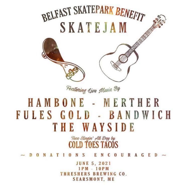 Skate Jam - Fundraiser for Belfast, ME skatepark!