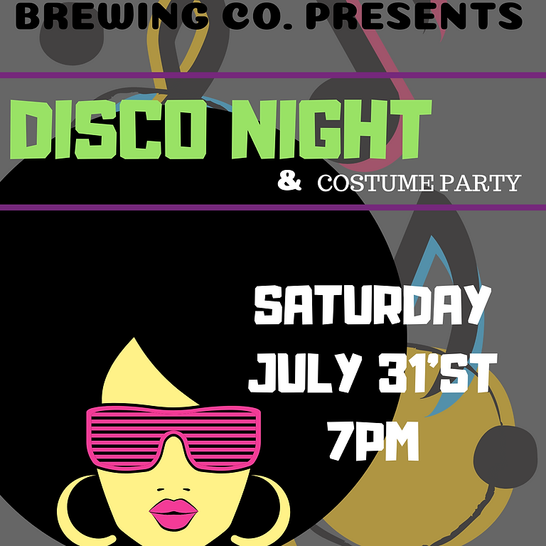 Disco Dance & Costume Party With DJ Willie