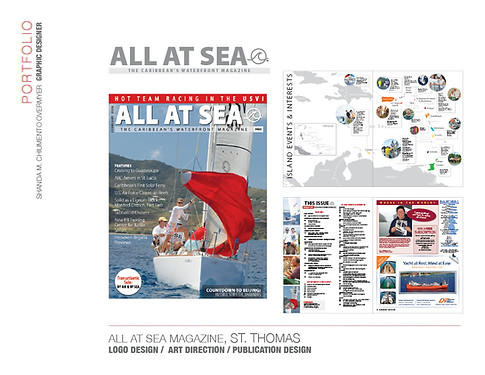 ALL AT SEA MAGAZINE, ST. THOMAS