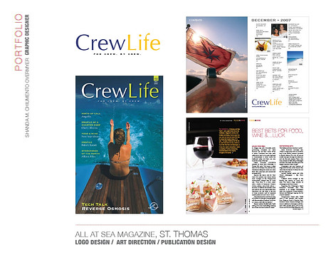 CREW LIFE MAGAZINE, ST. THOMAS